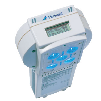 infant phototherapy lamp / hand-held / blue light