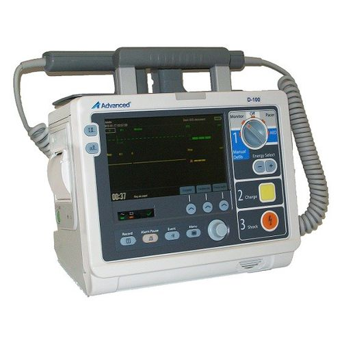 automatic external defibrillator / with ECG monitor