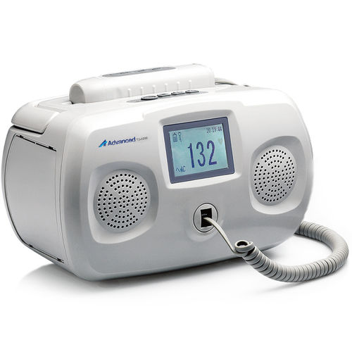 fetal doppler / peripheral / table / with heart rate monitor