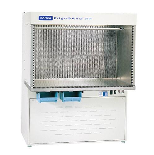 laboratory clean bench / floor-standing / with HEPA filter / horizontal laminar flow