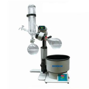 rotary evaporator / for samples / water bath