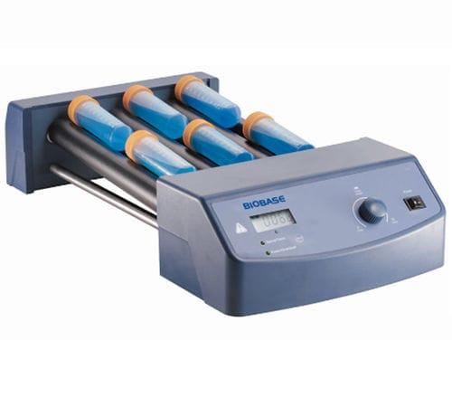 roller laboratory mixer / tilting / analog / blood sample