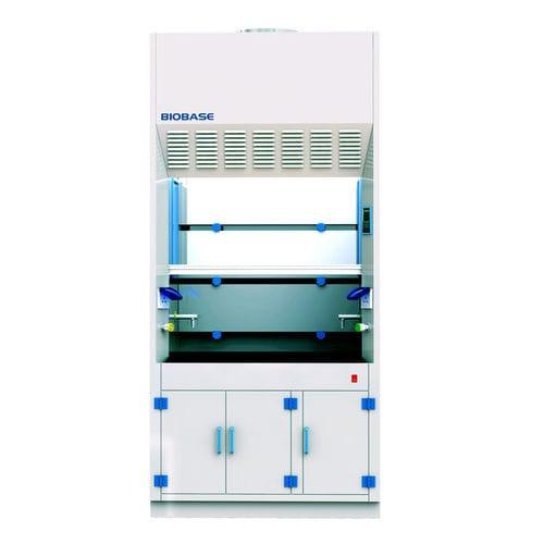 laboratory fume hood / chemical / floor-standing / polypropylene