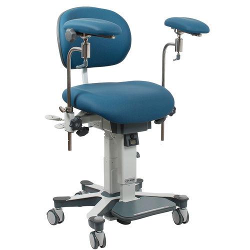 height-adjustable surgeon's chair / mobile