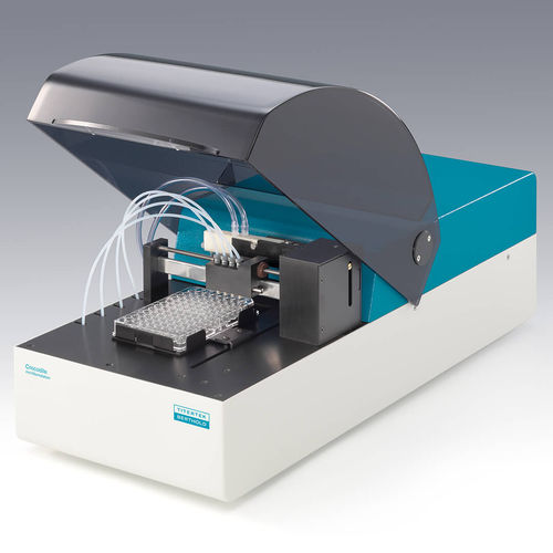 automatic immunoassay analyzer / bench-top / compact / ELISA