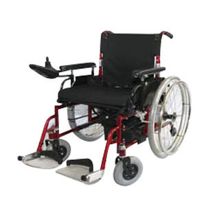electric wheelchair / indoor / with legrest / folding