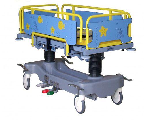 transport stretcher trolley / pediatric