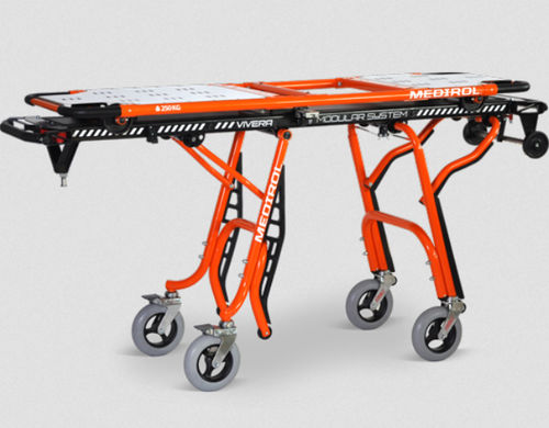 transport stretcher trolley / emergency / self-loading / pediatric