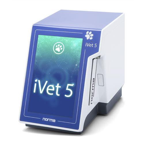 5-part differentiation hematology analyzer / 26-parameter / automatic / veterinary