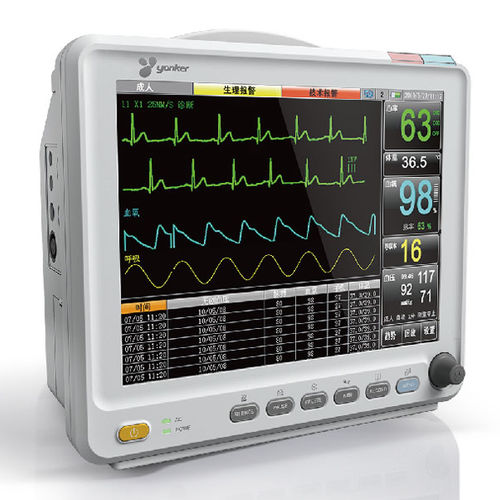 Intensive care multi-parameter monitor / TEMP / NIBP / SpO2 YK-8000C Yonker