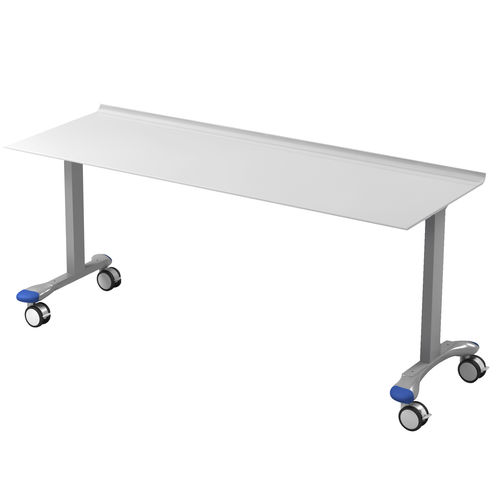 treatment trolley / handling / for instruments / for operating tables