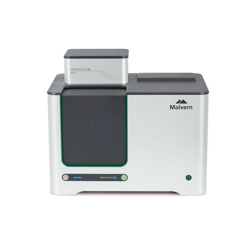 Raman particle size analyzer / static image analysis / for the pharmaceutical industry