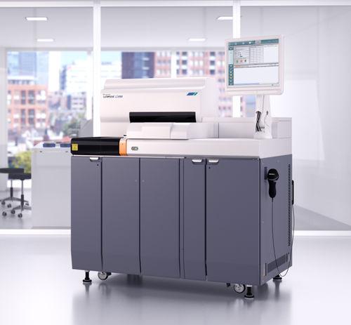 automated immunoassay analyzer / floor-standing / compact / chemiluminescence