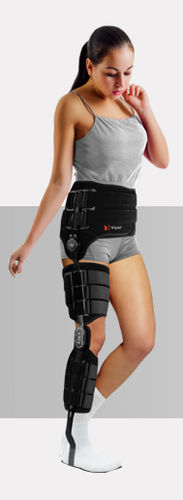 hip, knee, ankle and foot orthosis / articulated
