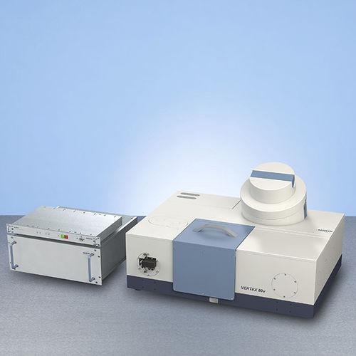FT-IR spectrometer / high-resolution verTera: VERTEX80v Terahertz Extension Bruker Optik GmbH