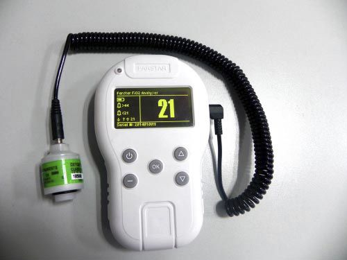 oxygen analyzer / for medical devices / portable