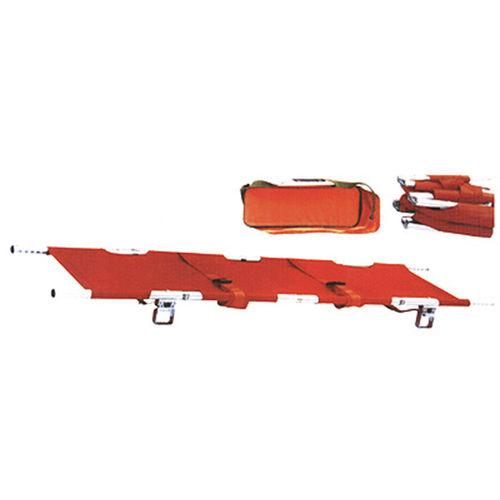 emergency stretcher / folding / aluminum