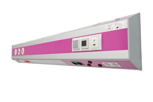 Horizontal bed head unit / with light MERYclassic INMED-Karczewscy