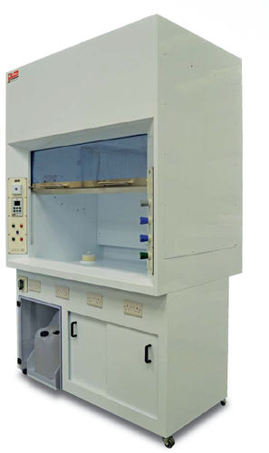 laboratory fume hood / chemical / walk-in / ductless