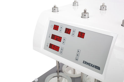dissolution testing system / for the pharmaceutical industry / compact