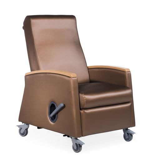 reclining patient chair / with legrest / manual