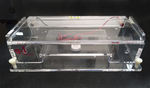 horizontal electrophoresis chamber