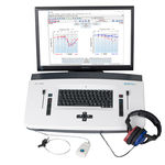 clinical diagnostic audiometer / computer-based / table