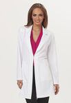 women's lab coat / antimicrobial / washable