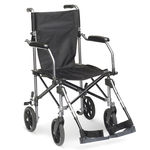 outdoor transfer chair / indoor / on casters / folding