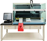 laboratory sample preparation system / pipetting / serum / plasma