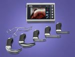 Laryngoscope video endoscope / with blade / pediatric C-MAC® KARL STORZ