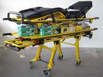 ambulance stretcher trolley / electric / for infant incubators