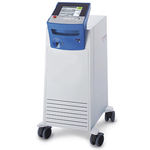 surgical laser / dermatology / Nd:YAG / trolley-mounted