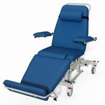 electric dialysis chair / 3-section / height-adjustable / Trendelenburg