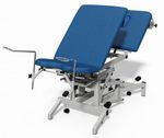gynecological examination table / hydraulic / tilting / 3-section