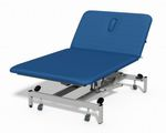electric Bobath table / hydraulic / height-adjustable / on casters