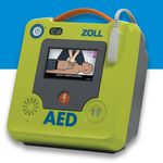 semi-automatic external defibrillator / automated / wireless