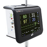 intensive care patient monitor / clinical / emergency / respiratory rate