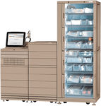 pharmacy automated dispensing system / medicine / with computer / on casters
