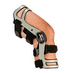knee orthosis / knee ligament stabilization / articulated / dynamic