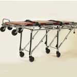 transport stretcher trolley / manual / mortuary / 1-section