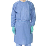 protective gown / unisex / breathable