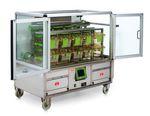 Transport trolley / animal cage / 2-door  Tecniplast