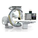 fluoroscopy system / digital / for cardiovascular fluoroscopy / with floor-mounted C-arm