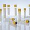 blood collection tube / for serum analysis / round bottom / separator gel