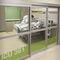 intensive care door / laboratory / sliding / hermetic