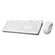 USB keyboard / wireless / silicone / hygiene