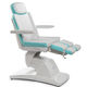 podiatry examination chair / electric / height-adjustable / with adjustable backrest
