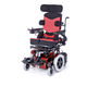 electric wheelchair / outdoor / indoor / with headrest