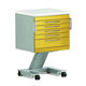 service trolley / for instruments / 6-drawer / modular